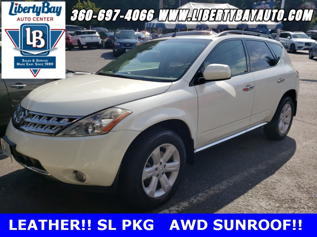 2007 Nissan Murano >> Pre Owned 2007 Nissan Murano Sl Awd